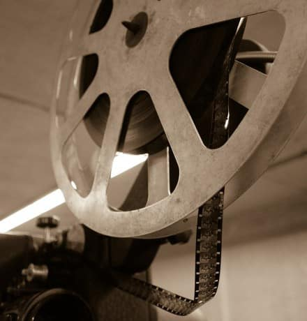 French Cinema - Projector Old
