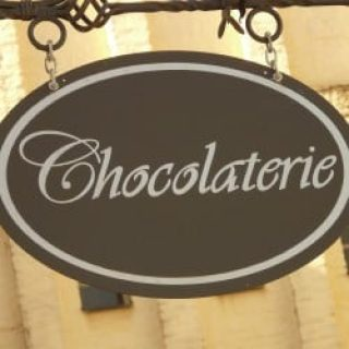 Chocolate Shops in Paris - Chocolaterie Sign