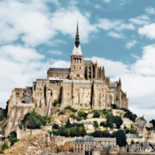 Mont Saint Michel Card