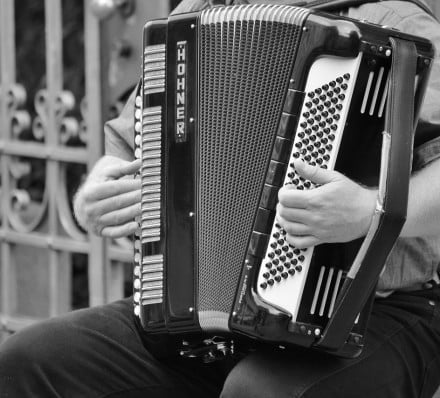 French traditions - Accordion