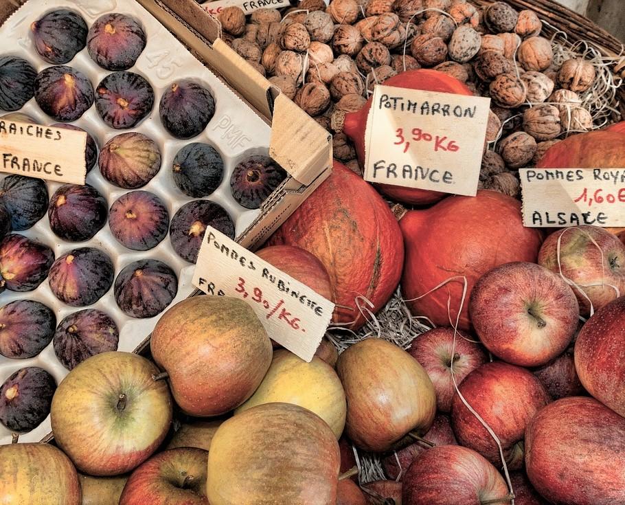 Calendar & good deals - Fruit Market