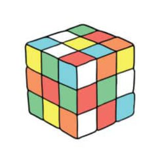 flexible work rubiks cube
