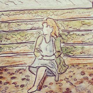 A self portrait of Beth