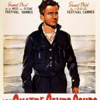 film poster for Les Quatre Cents Coups