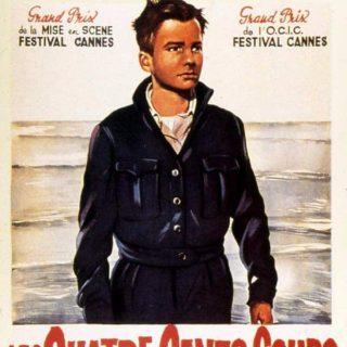 film poster for Les Quatre Cents Coups
