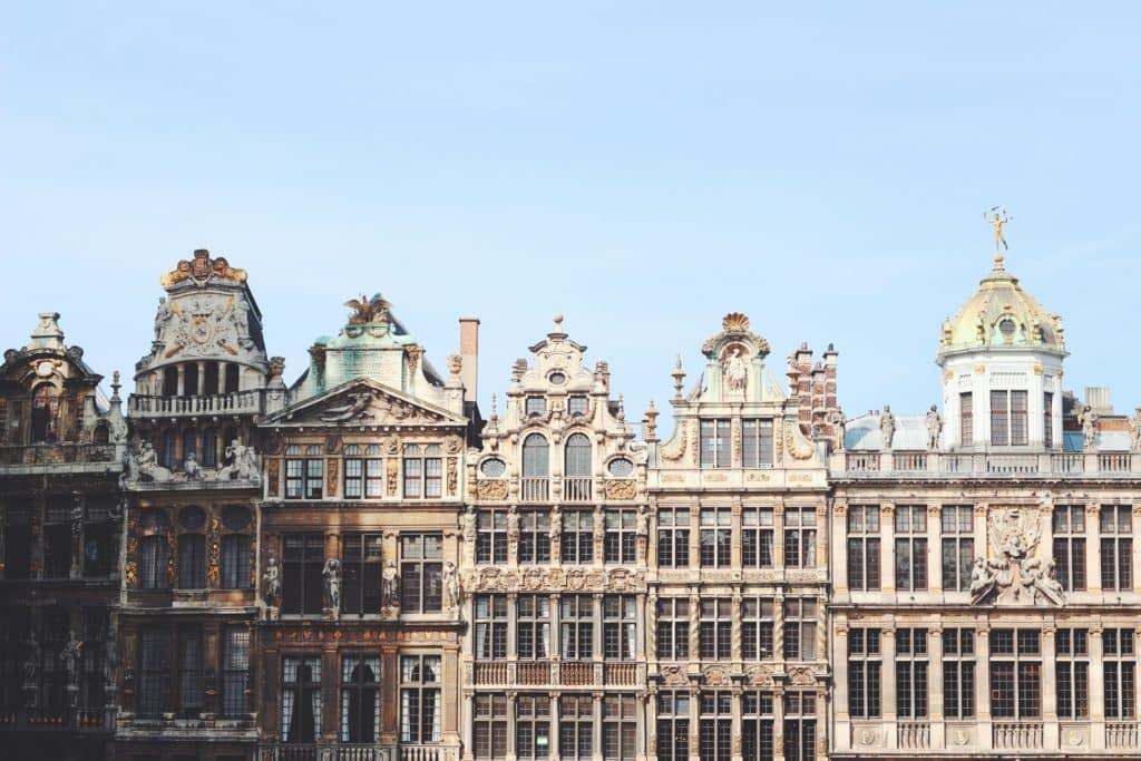 Photo of buildings in Belgium