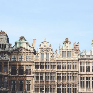 Photo of buildings in Belgium