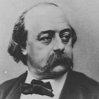 image of the author, Gustave Flaubert