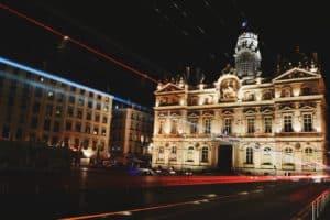 a square in Lyon