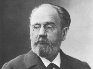 a portrait of Emile Zola
