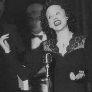 An image of Edith Piaf, 'La Môme'