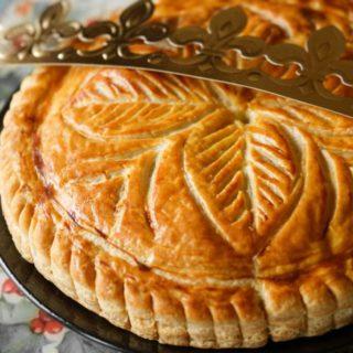 a traditional 'galette des rois''