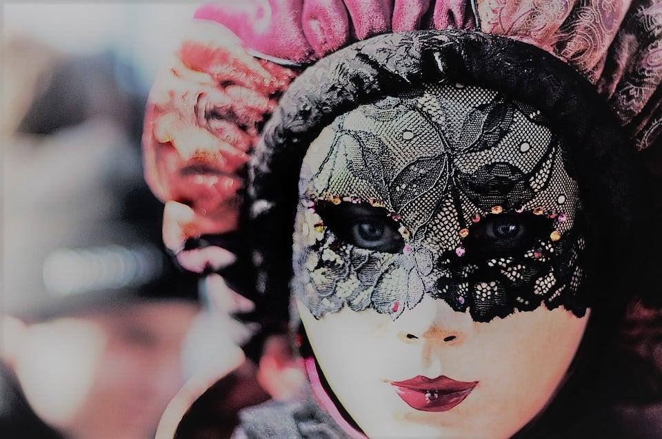 a carnival mask