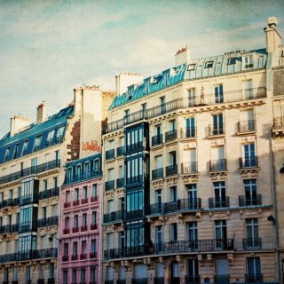 an image of Parisian buildings