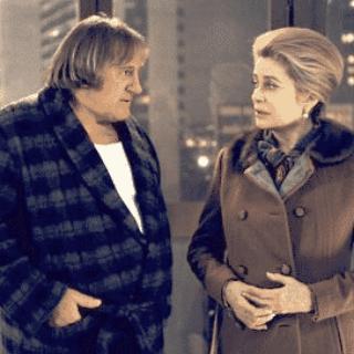 Scene from the film Potiche