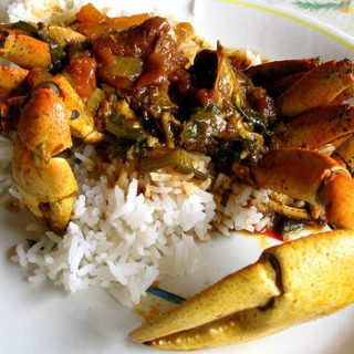 Crab Curry for Easter