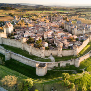 carcassonne from above