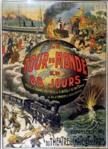 French Book: Le tour du monde en 80 jours