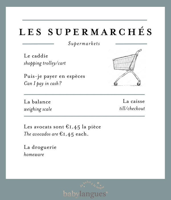 toolkit supermarché