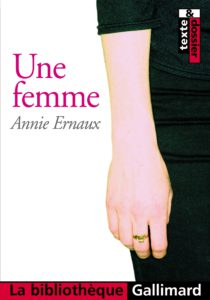 French Book: 'Une femme'