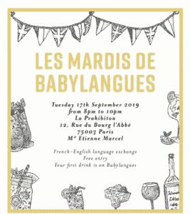 Les Mardis – September 2019