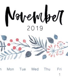 November 2019 Good Deals