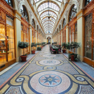 shopping arcade paris