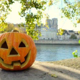 pumpkin halloween in Paris